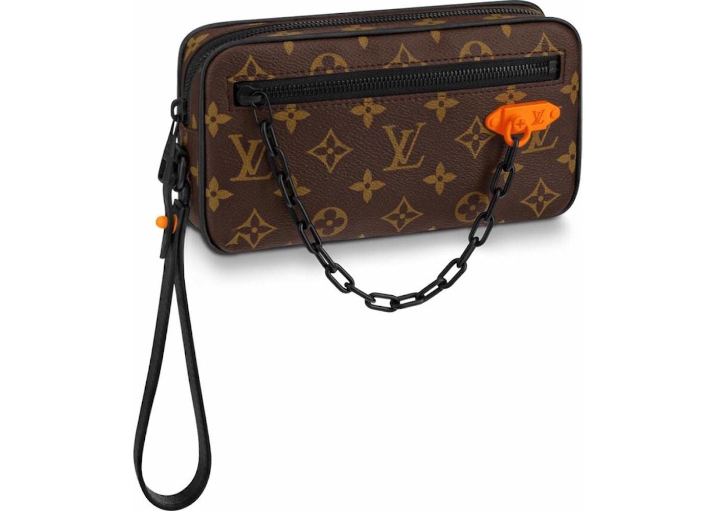 08fbbcf97324 Sell. or Ask. View All Bids. Louis Vuitton Pochette Volga Monogram Black  Hardware Brown