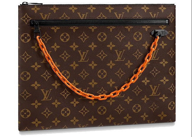 Louis Vuitton A4 Pouch Monogram Brown