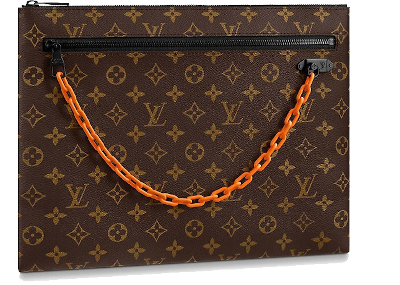 b9de586ed13ef Louis Vuitton A4 Pouch Monogram Brown. Monogram Brown