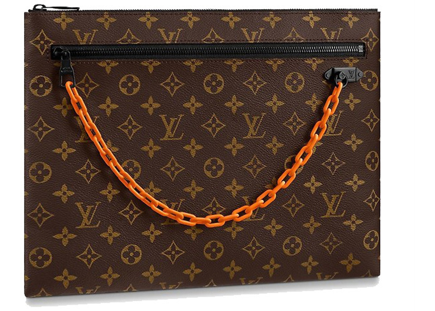 36e6fd1dcb1 Louis Vuitton A4 Pouch Monogram Brown