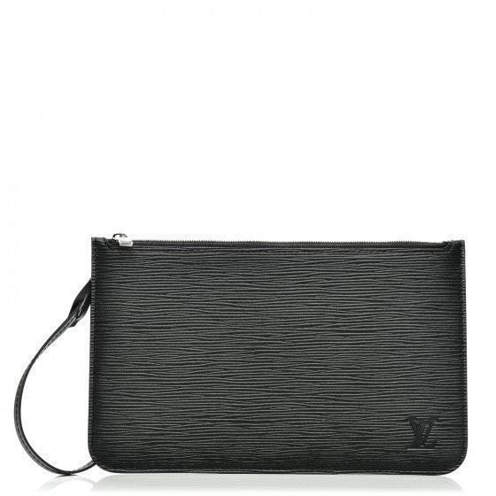 Louis Vuitton Pochete Neverfull Epi GM Noir Black