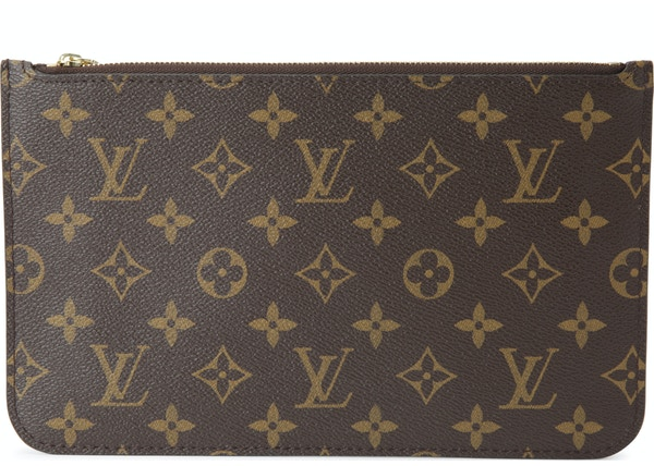 b610731142 Louis Vuitton Neverfull Pochette Monogram MM/GM Beige