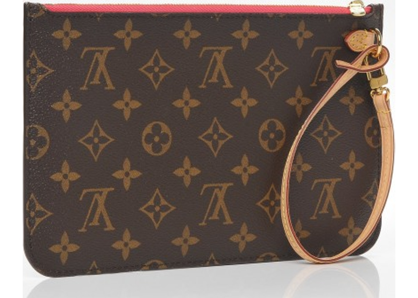 aee09de91c9a Louis Vuitton Pochette Neverfull MM Monogram GM Grenade Brown