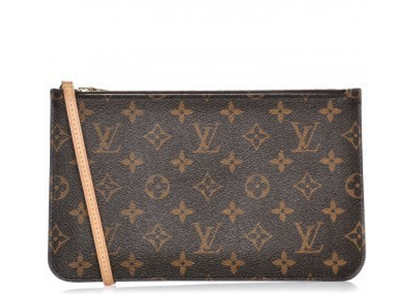 9202b3686b4e Louis Vuitton Neverfull Pochette MM Monogram Brown. MM Monogram Brown