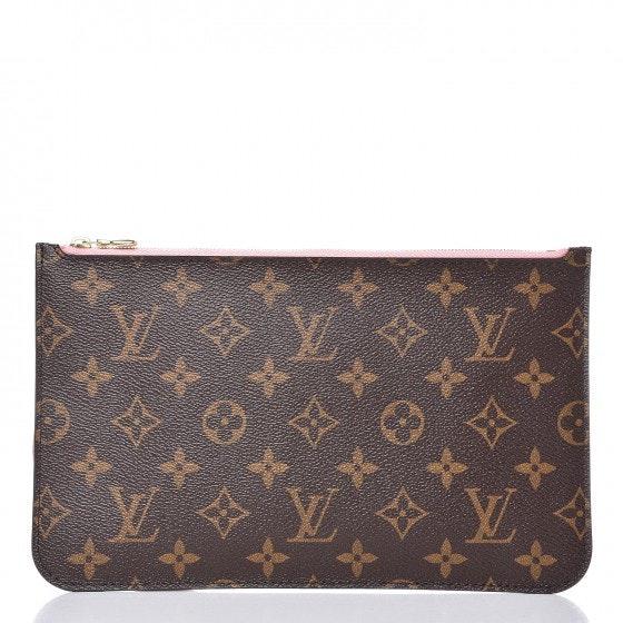 Louis Vuitton Pochette Neverfull Monogram Palm Springs Jungle MM/GM Sugar Pink
