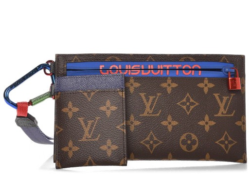 Louis Vuitton Pochette Outdoor Monogram Brown/Blue