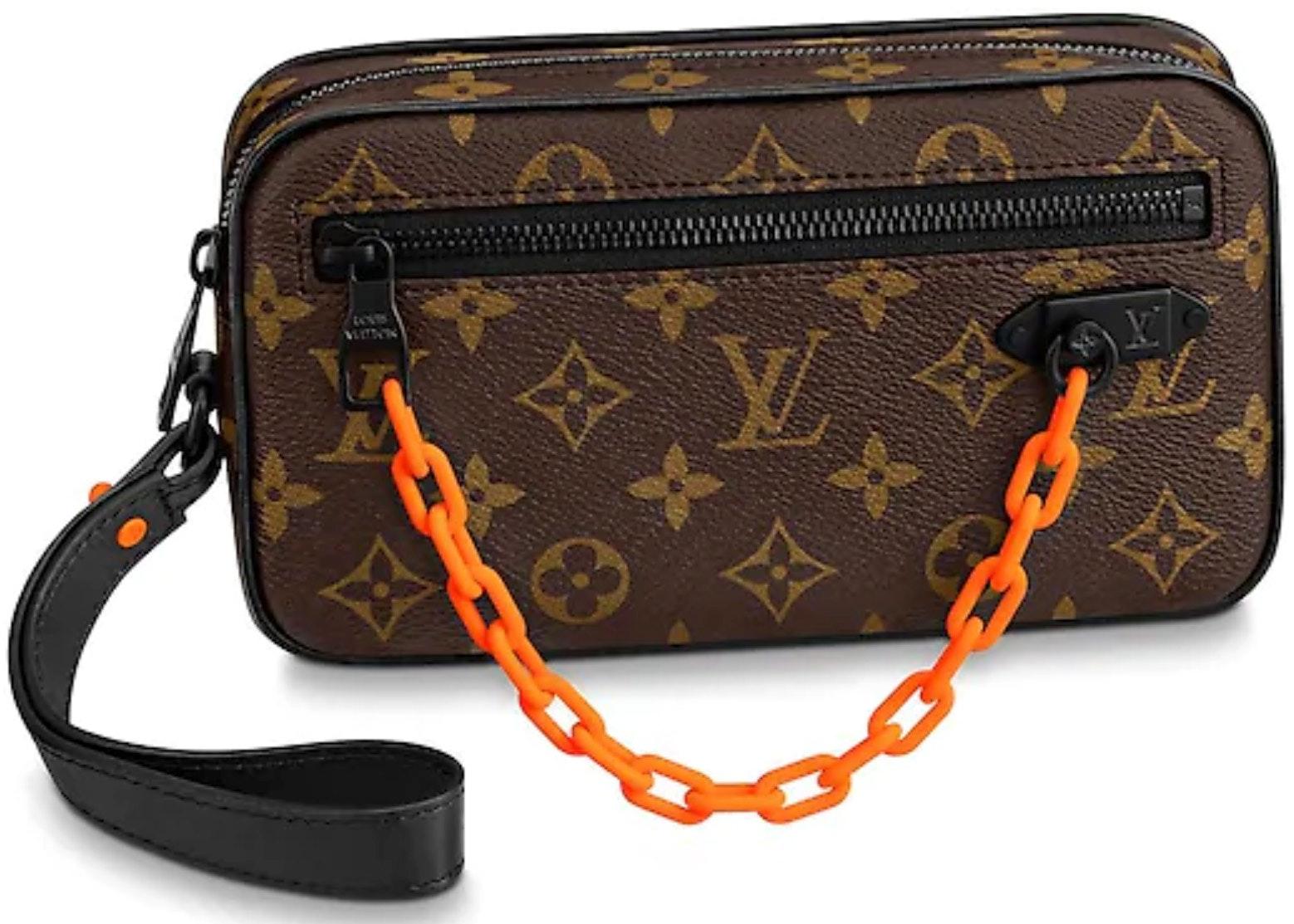 Louis Vuitton Pochette Volga Monogram Brown
