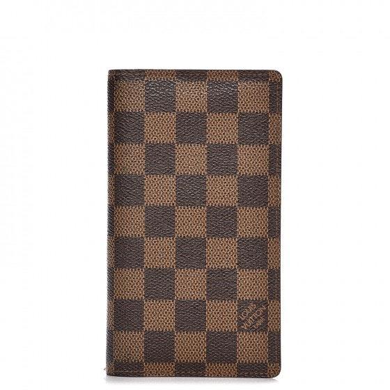 Louis Vuitton Pocket Agenda Cover Damier Ebene