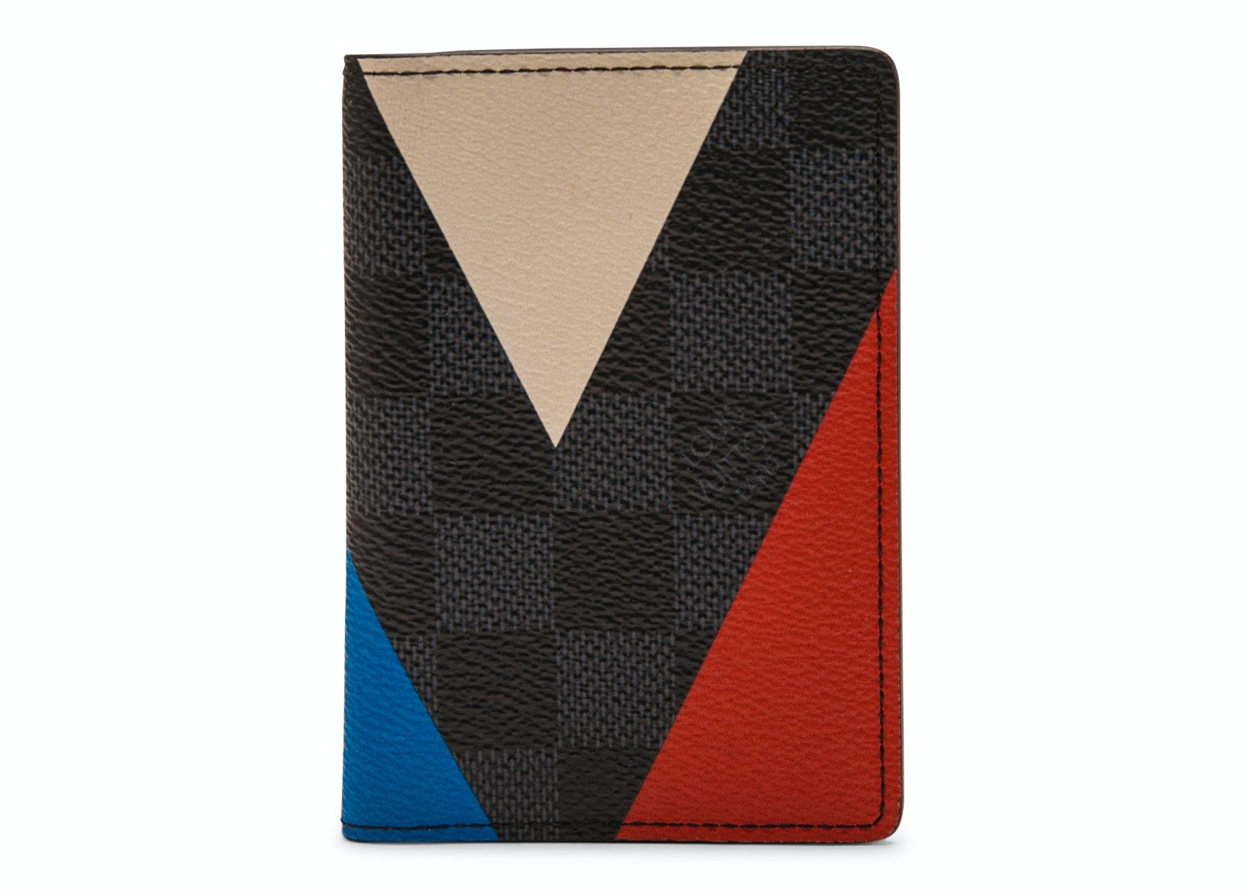 Louis Vuitton Pocket Organizer Americas Cup Regatta Damier Cobalt Multicolor