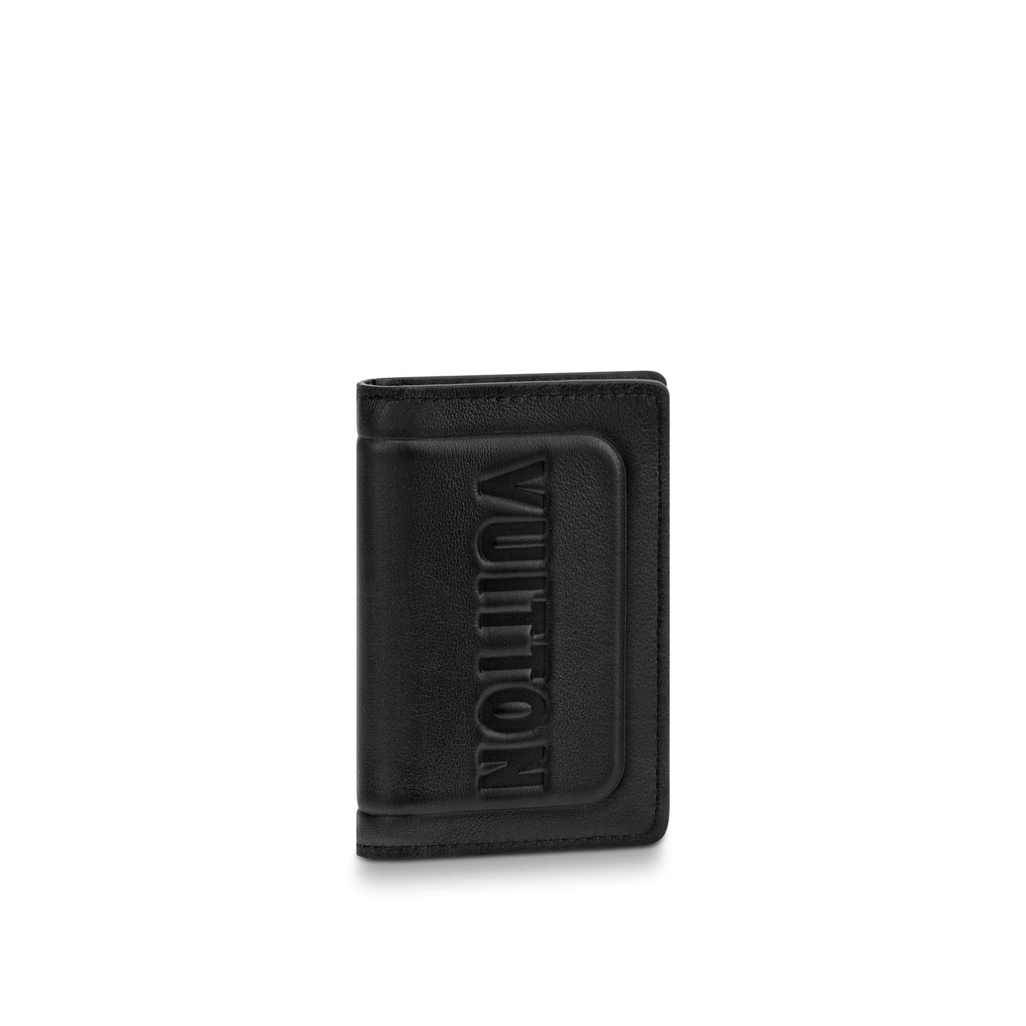 Louis Vuitton Pocket Organizer Black Dark Infinity
