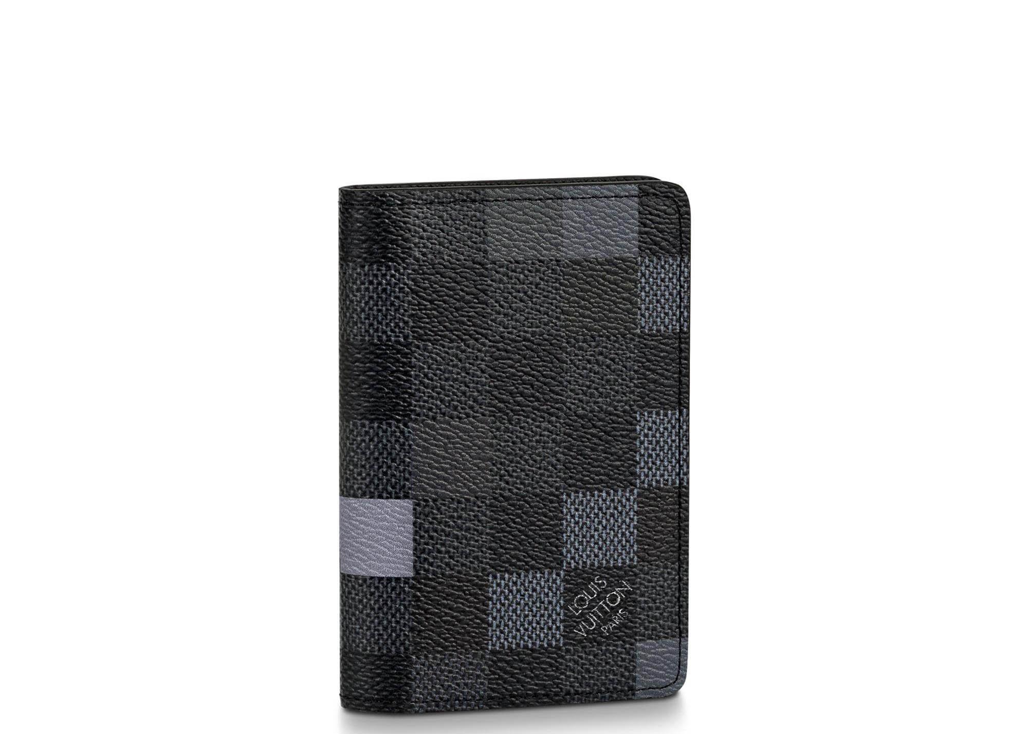 208570b36d2 Pocket Organizer Damier Graphite Pixel Gray