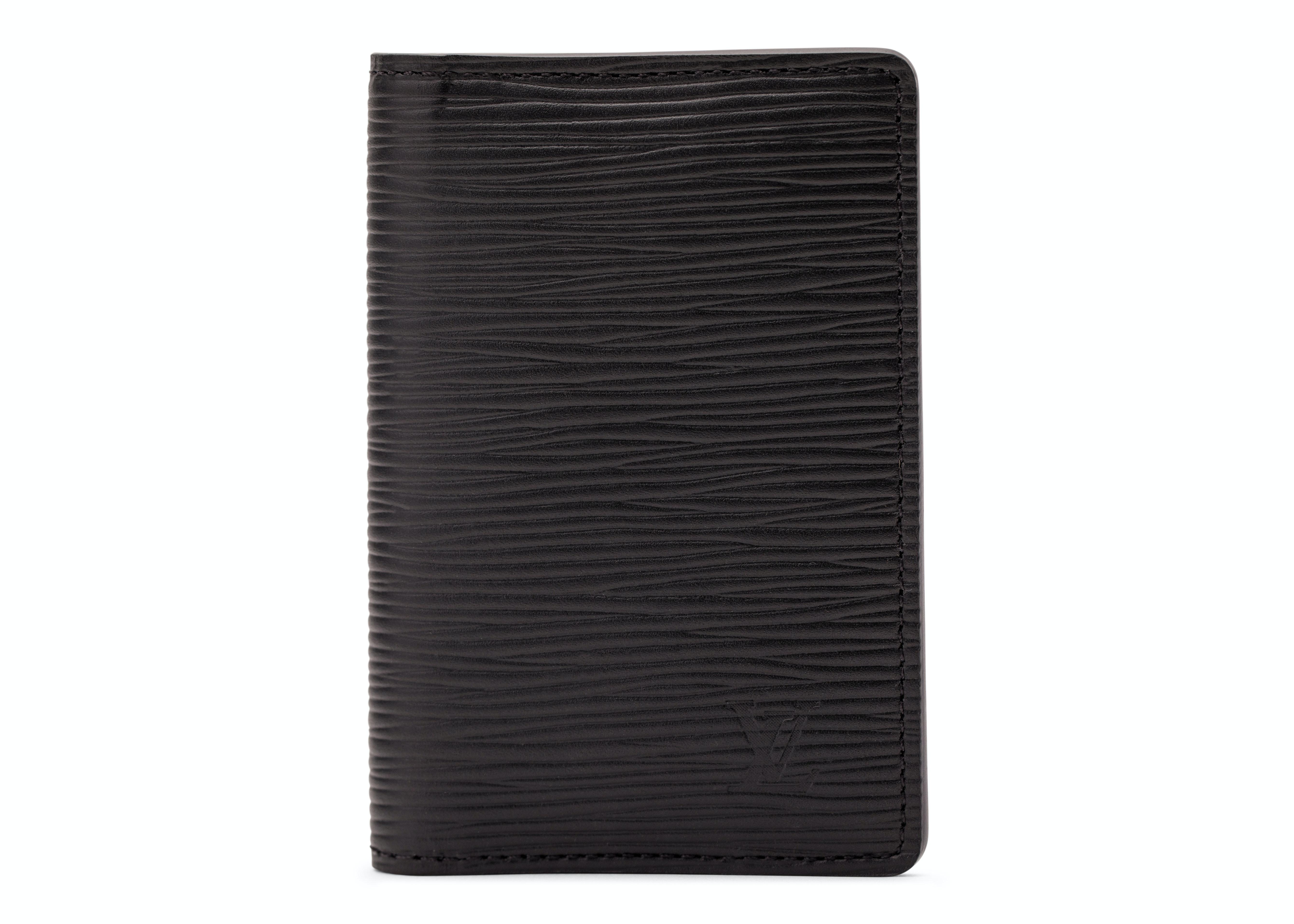 Louis Vuitton Pocket Organizer Epi Black