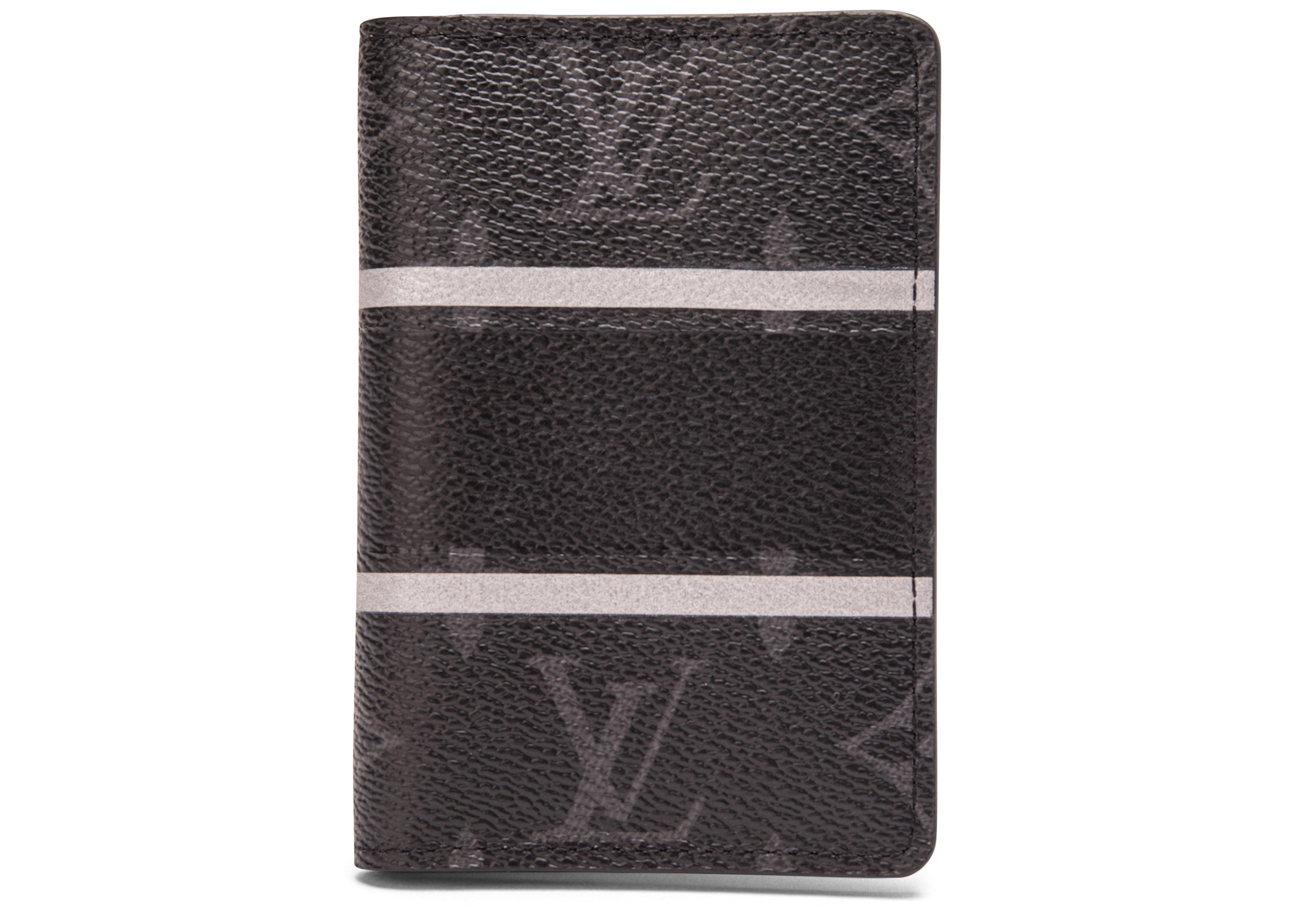 Louis Vuitton x Fragment Pocket Organizer Monogram Eclipse Black