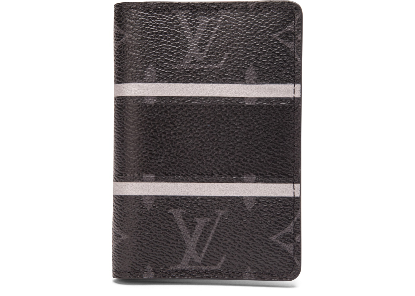 1590e6f6ea8c Louis Vuitton x fragment Pocket Organizer Monogram Eclipse Black. Monogram  Eclipse Black