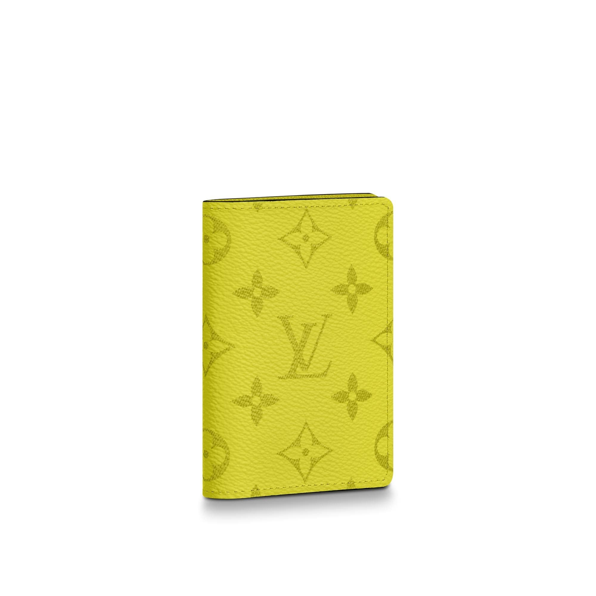 Louis Vuitton Pocket Organizer Monogram Bahia Yellow