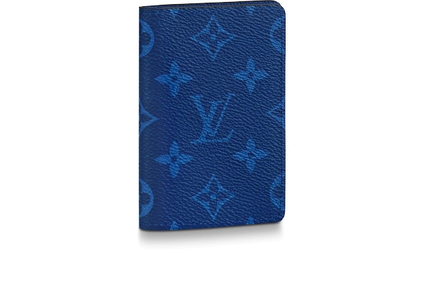 b8c819d376d0 Louis Vuitton Pocket Organizer Monogram Pacific Taiga Blue