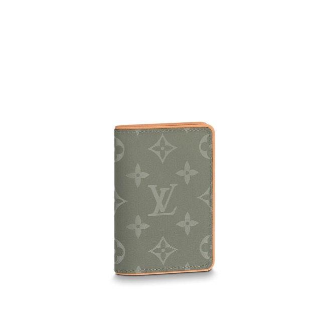 Louis Vuitton Pocket Organizer Monogram Titanium Grey