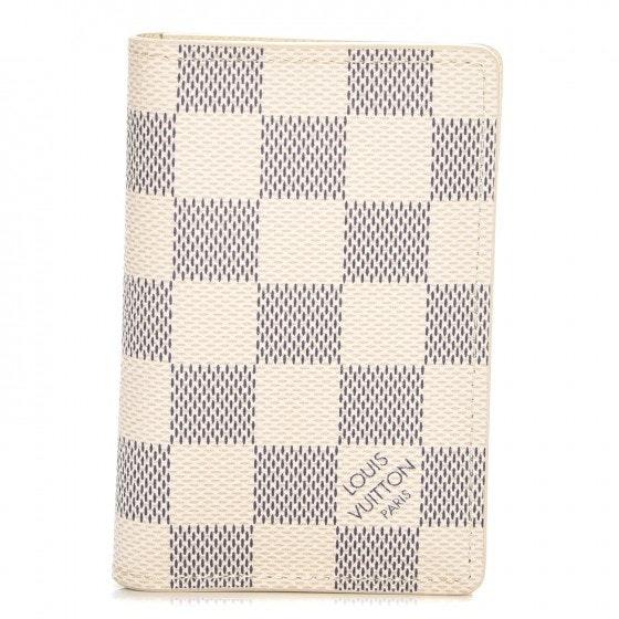 Louis Vuitton Pocket Organizer Damier Azur NM White/Blue