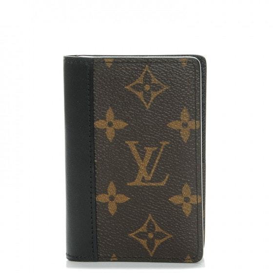 Louis Vuitton Pocket Organizer Monogram Macassar NM