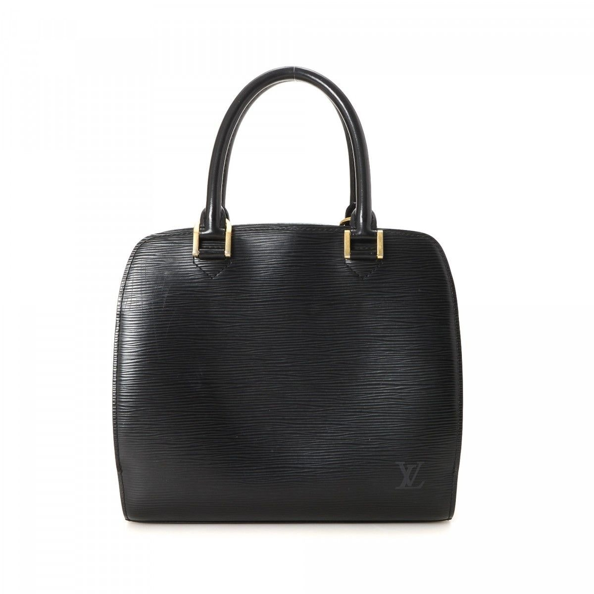 Louis Vuitton Pont Neuf Epi PM Black Brass