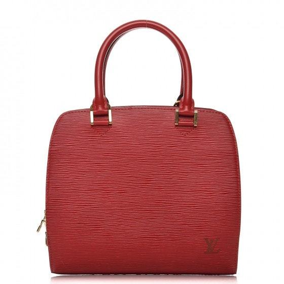 Louis Vuitton Pont Neuf Epi PM Red