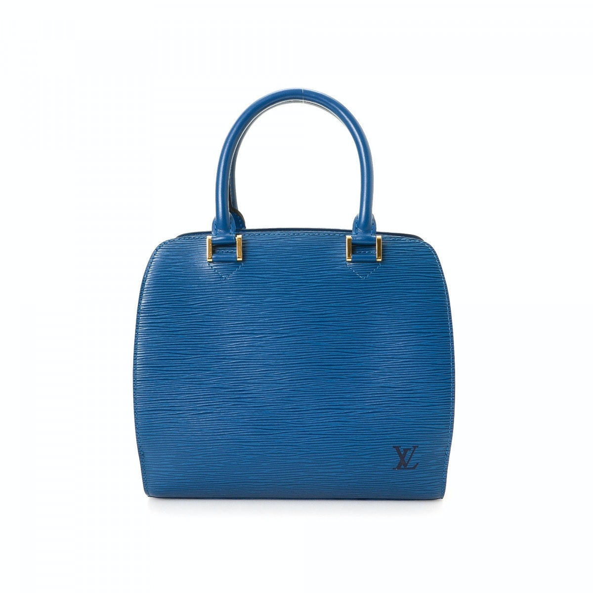 Louis Vuitton Pont Neuf Epi PM Toledo Blue