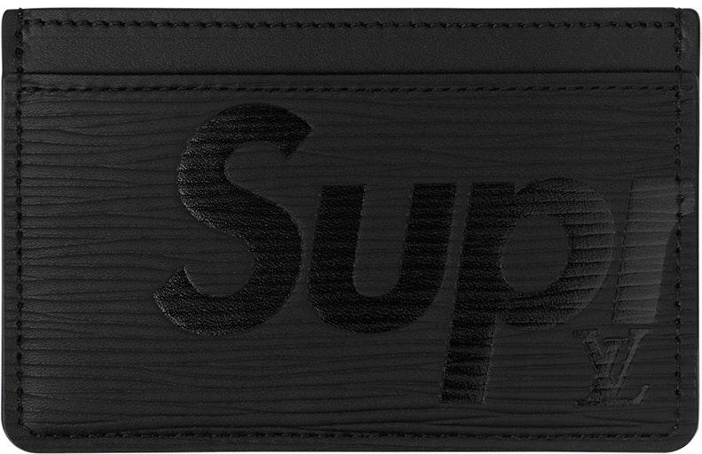 Louis Vuitton x Supreme Porte Carte Simple Epi Black