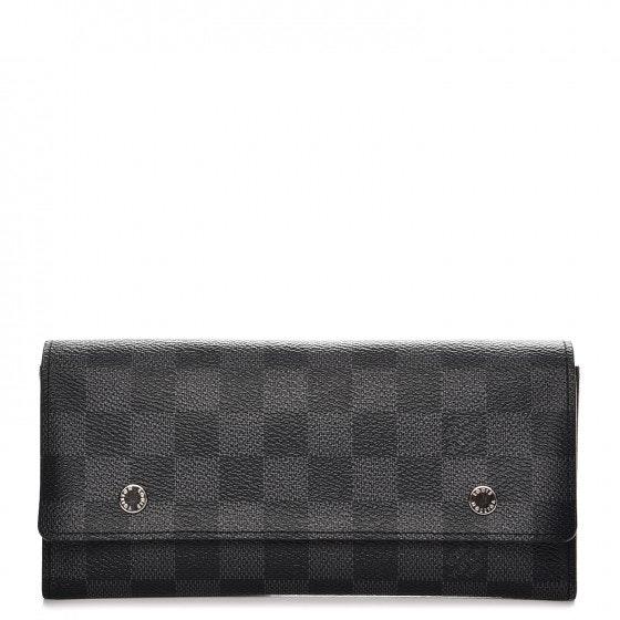 Louis Vuitton Long Modulable Wallet Portefeuille Damier Graphite