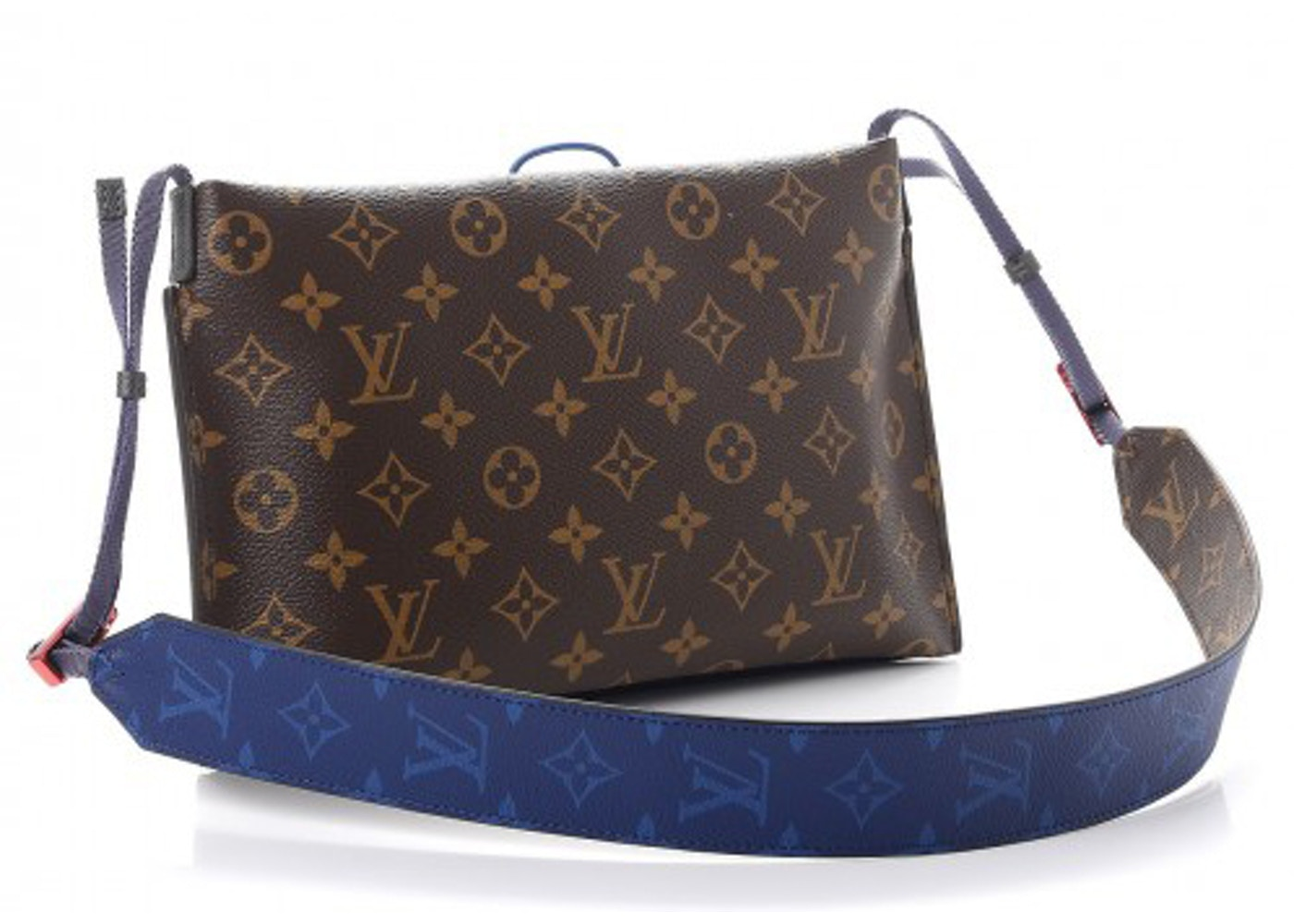b65db7183c3 Louis Vuitton Pouch Outdoor Monogram Pacific Small Brown/Blue