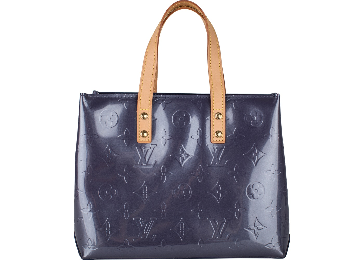 0b8226c0b Louis Vuitton Reade Monogram Vernis PM Blue Nuit. Monogram Vernis PM Blue  Nuit