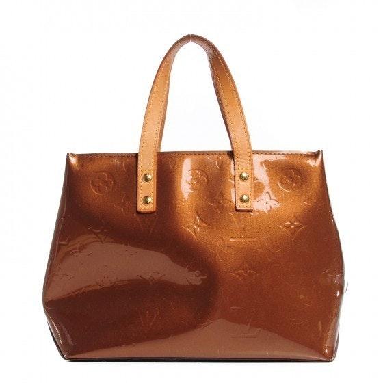 Louis Vuitton Reade Monogram Vernis PM Bronze