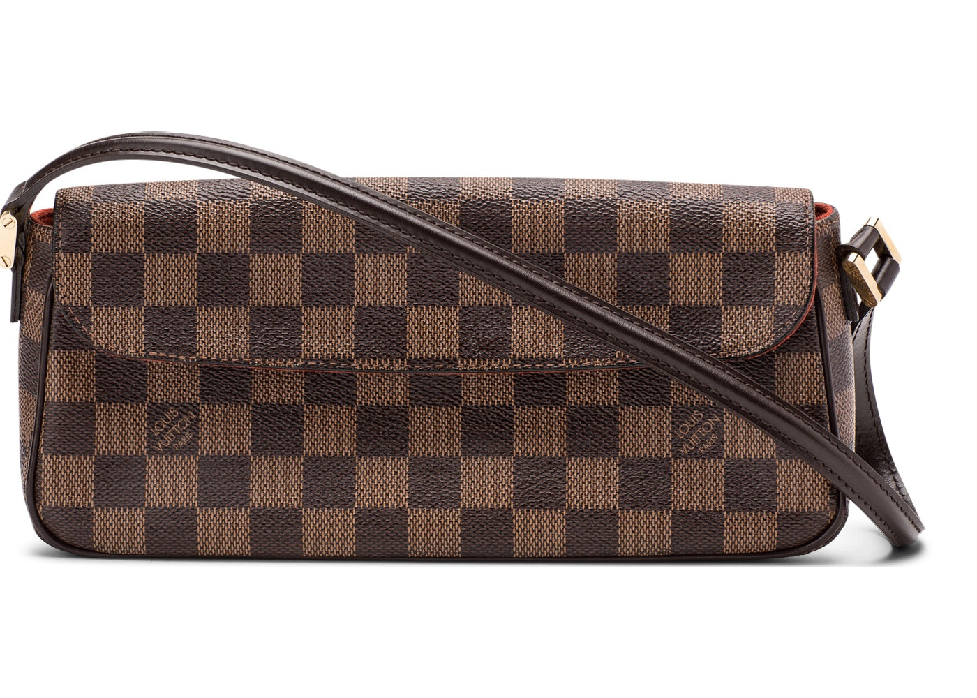 214d47b89f36 Louis Vuitton Recoleta Damier Ebene Brown. Damier Ebene Brown