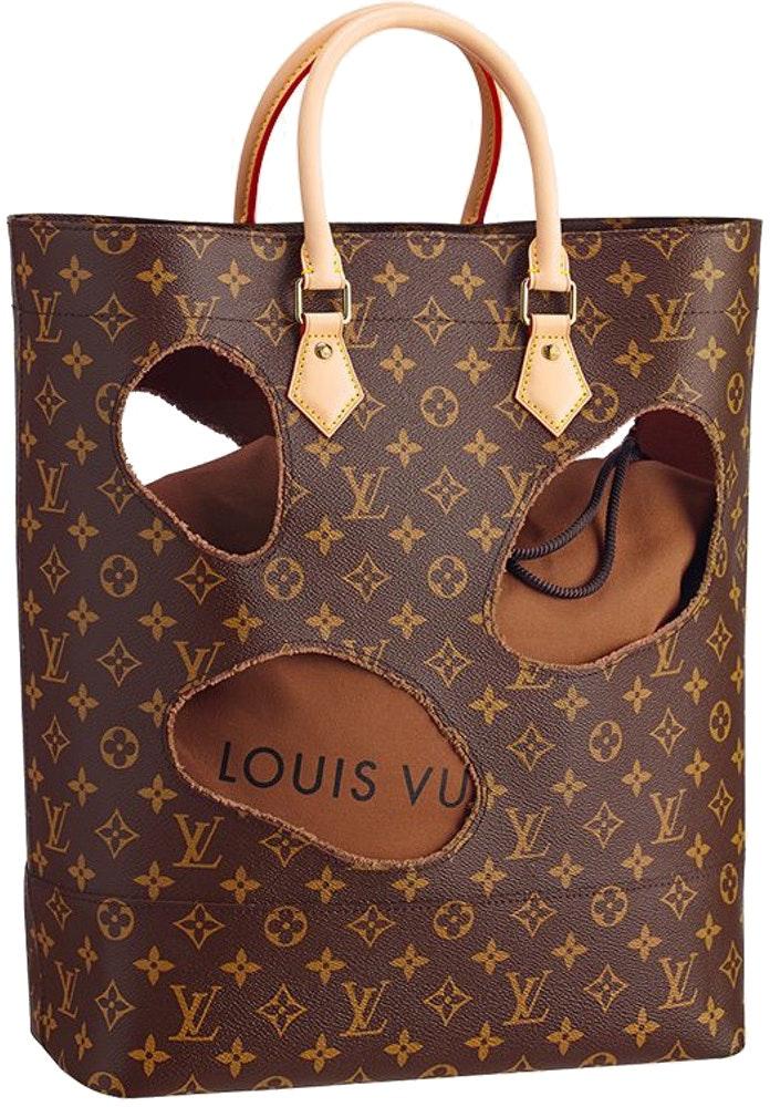 Louis Vuitton Rei Kawakubo Tote with Holes Monogram Brown