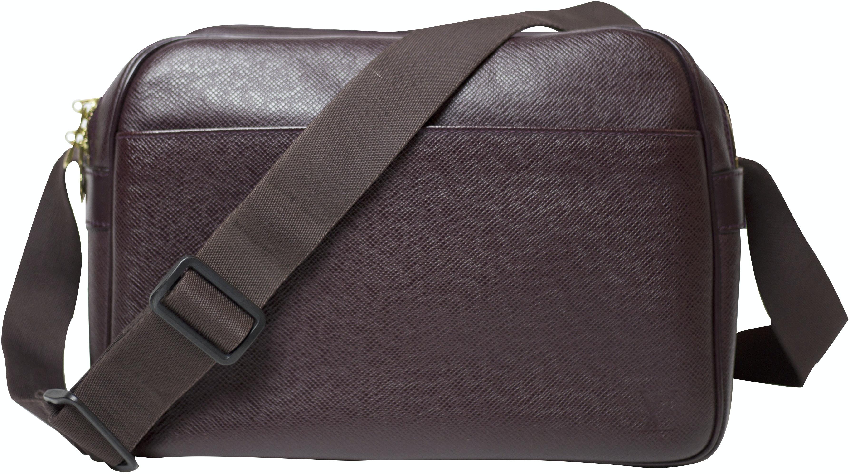 Louis Vuitton Reporter Bag Taiga PM Burgundy