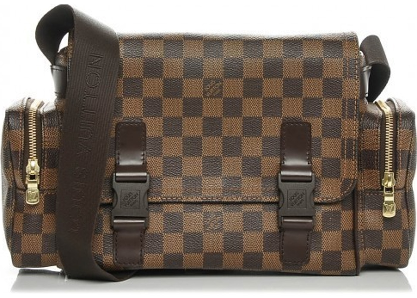 5df1485f2 Louis Vuitton Messenger Melville Reporter Damier Ebene Brown