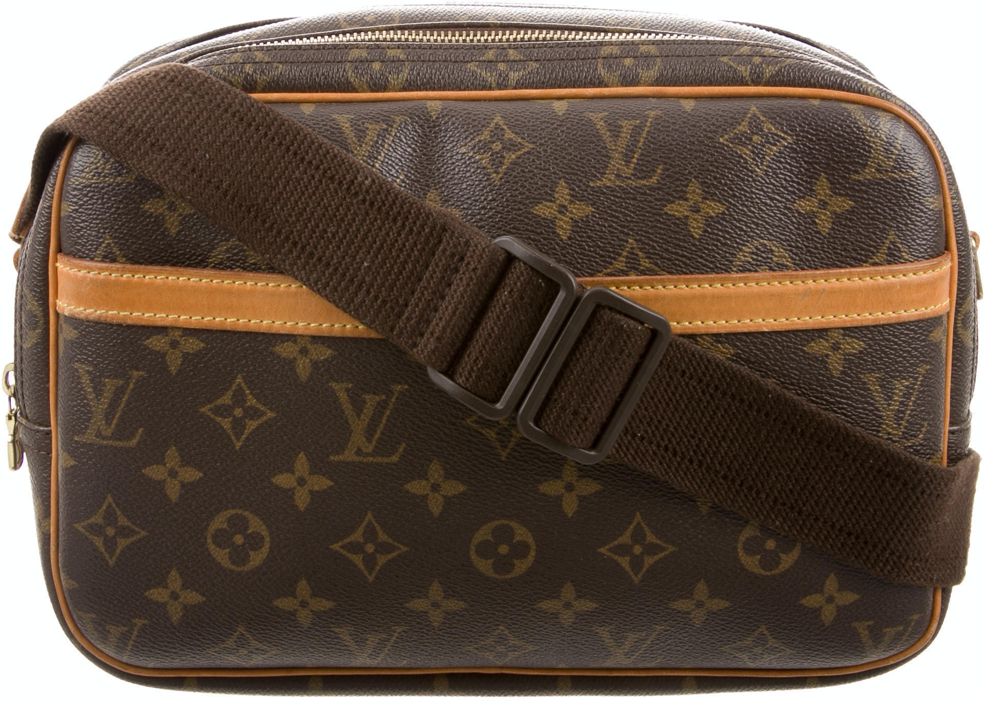 Louis Vuitton Reporter Monogram PM Brown