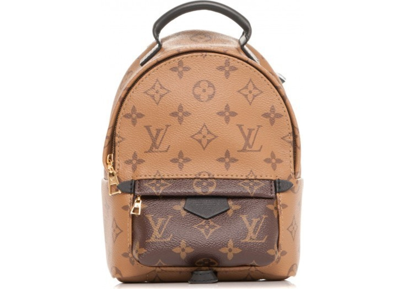 66808135c7a12 Louis Vuitton Palm Springs Reverse Monogram Mini Brown