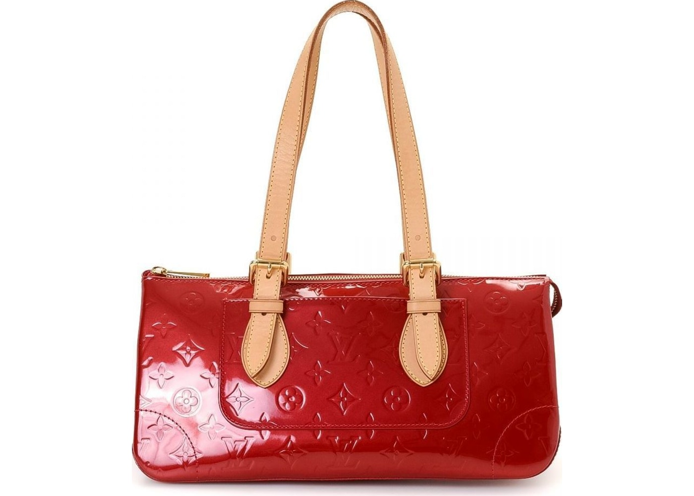 829c7e10ea2b Sell. or Ask. View All Bids. Louis Vuitton Rosewood Avenue Monogram Vernis  Red