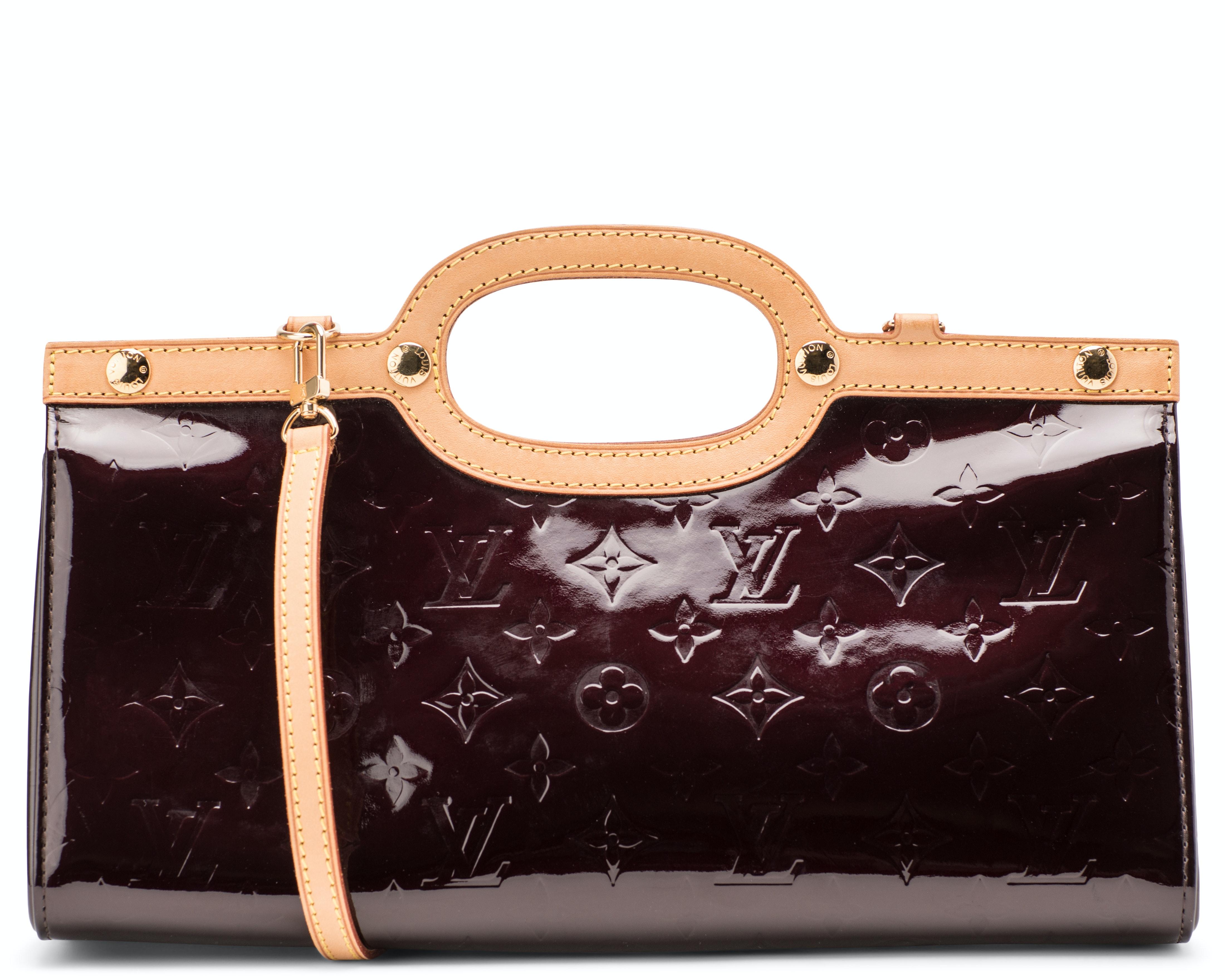 Louis Vuitton Roxbury Monogram Vernis Amarante
