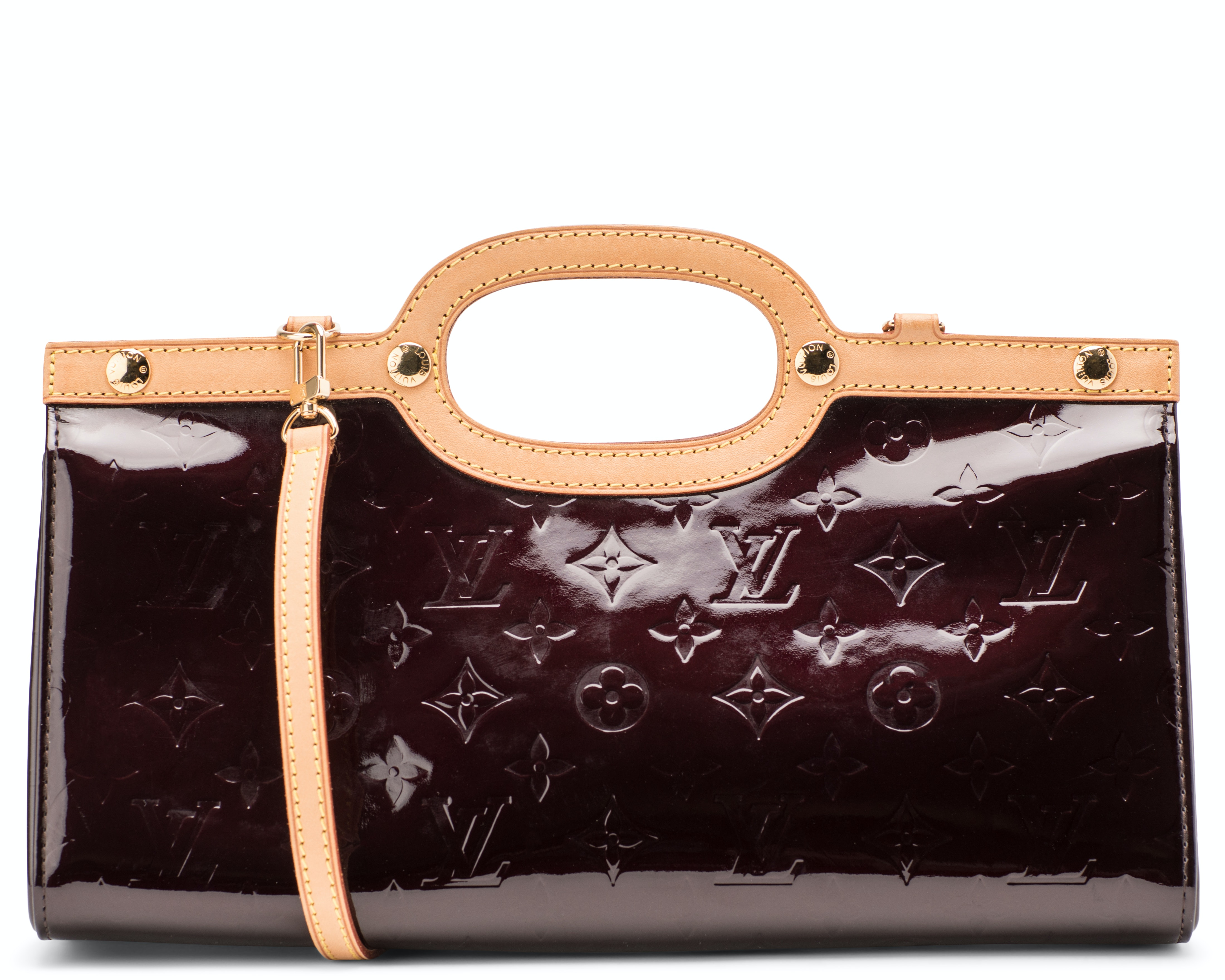 Louis Vuitton Roxbury Monogram Vernis Amarante