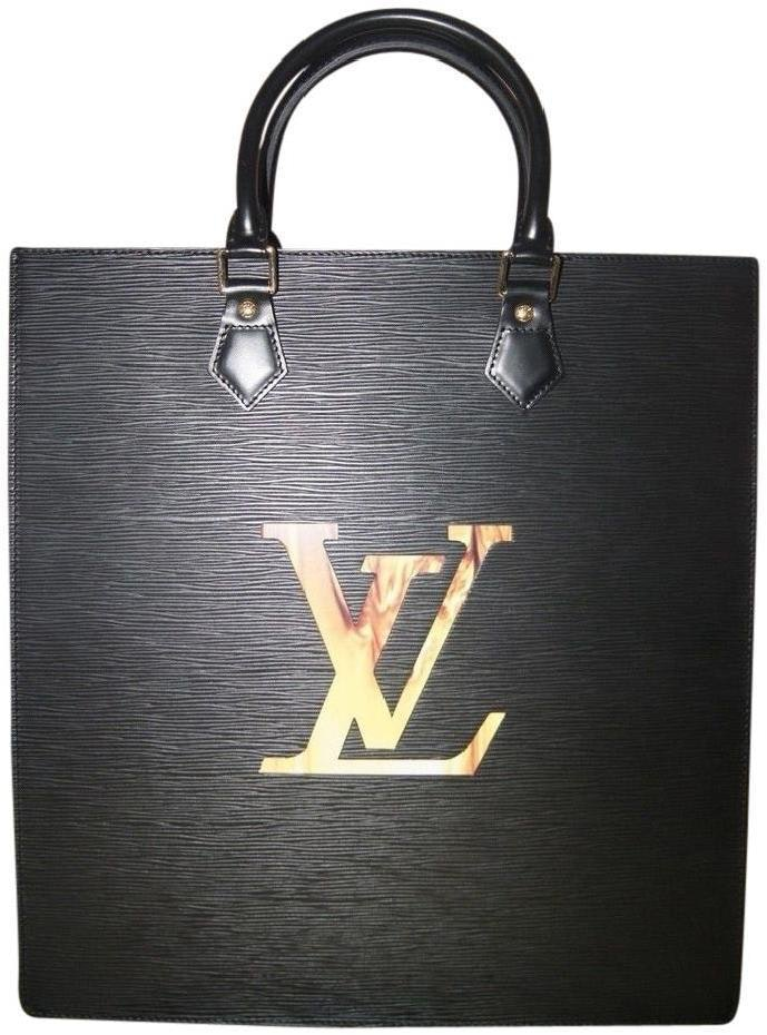 Louis Vuitton Sac Plat Fusion Epi Black