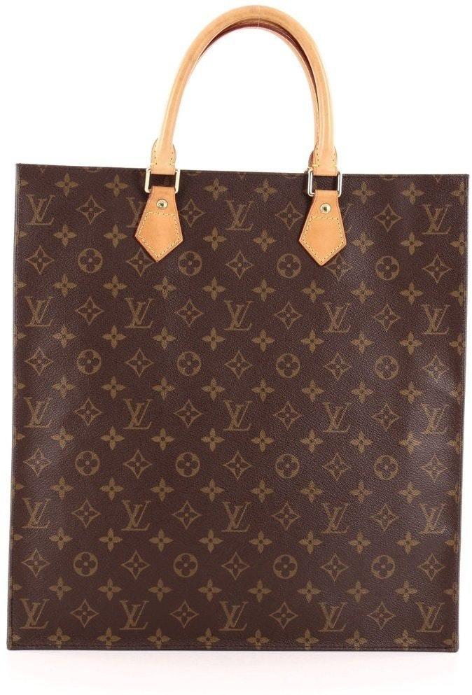 Louis Vuitton Sac Plat Monogram Brown