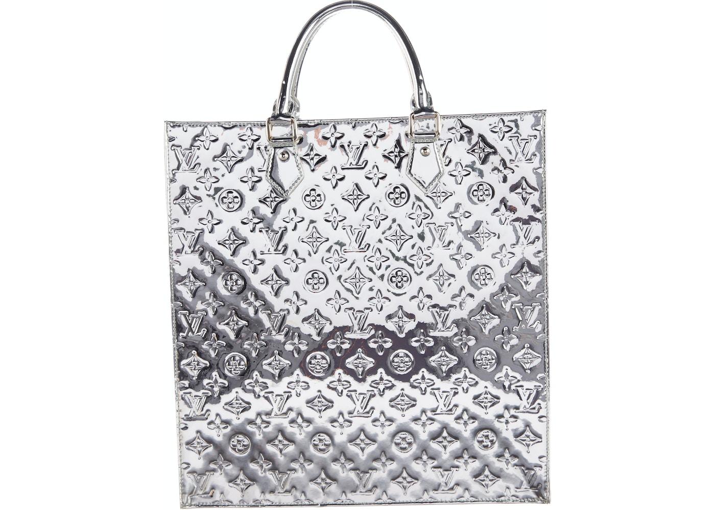 Louis Vuitton Sac Plat Monogram Miroir Silver 2bfa9badce1c