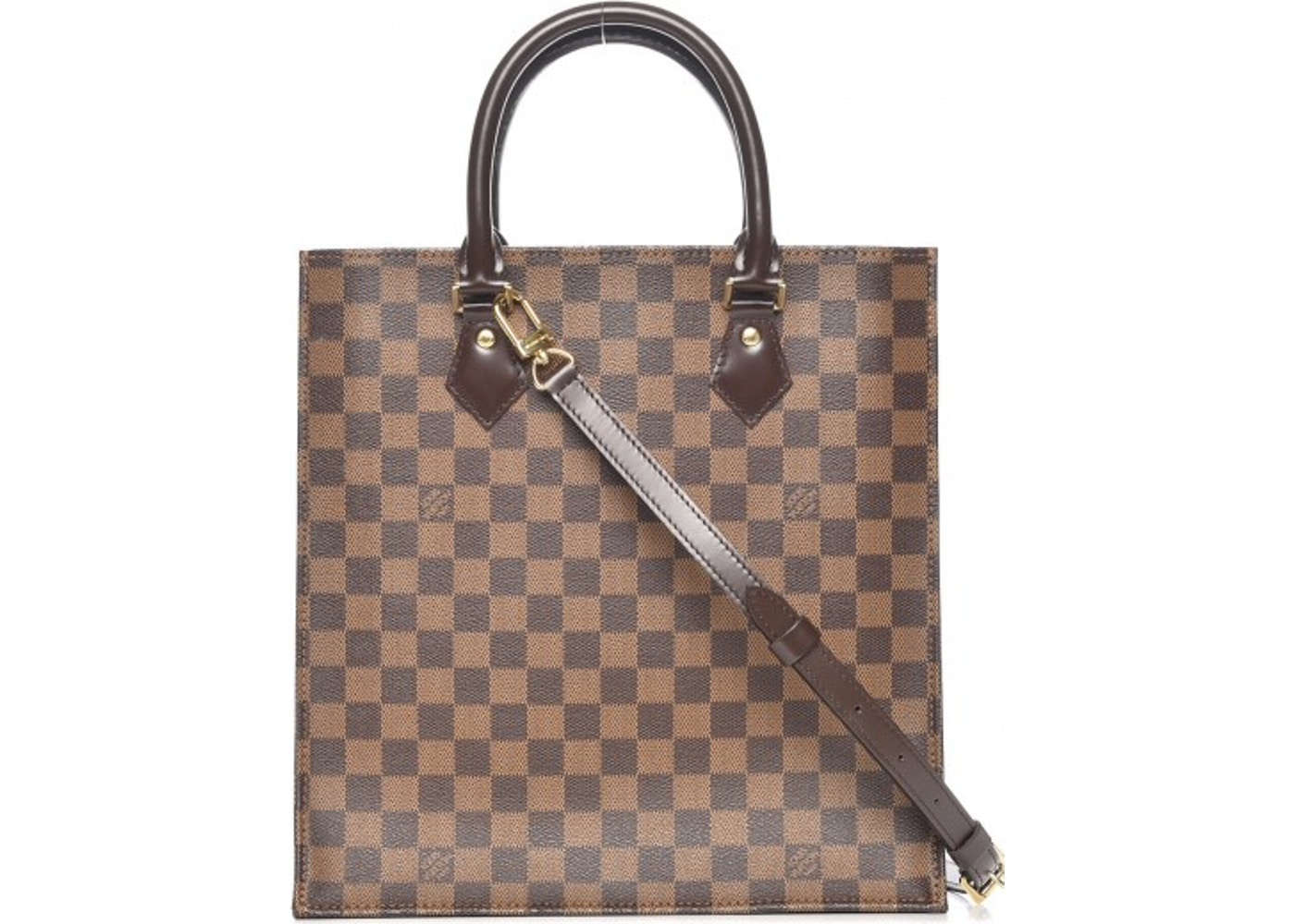 Louis Vuitton Sac Plat Nm Damier Ebene Brown. Damier Ebene Brown fa1a60ac17e