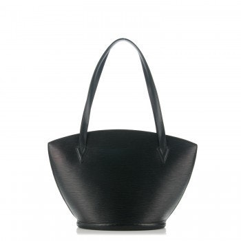 Louis Vuitton Saint Jacques Epi GM Black