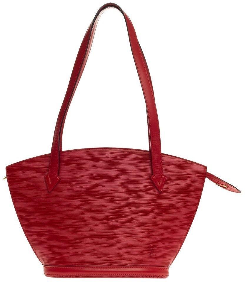 Louis Vuitton Saint Jacques Epi PM Rouge