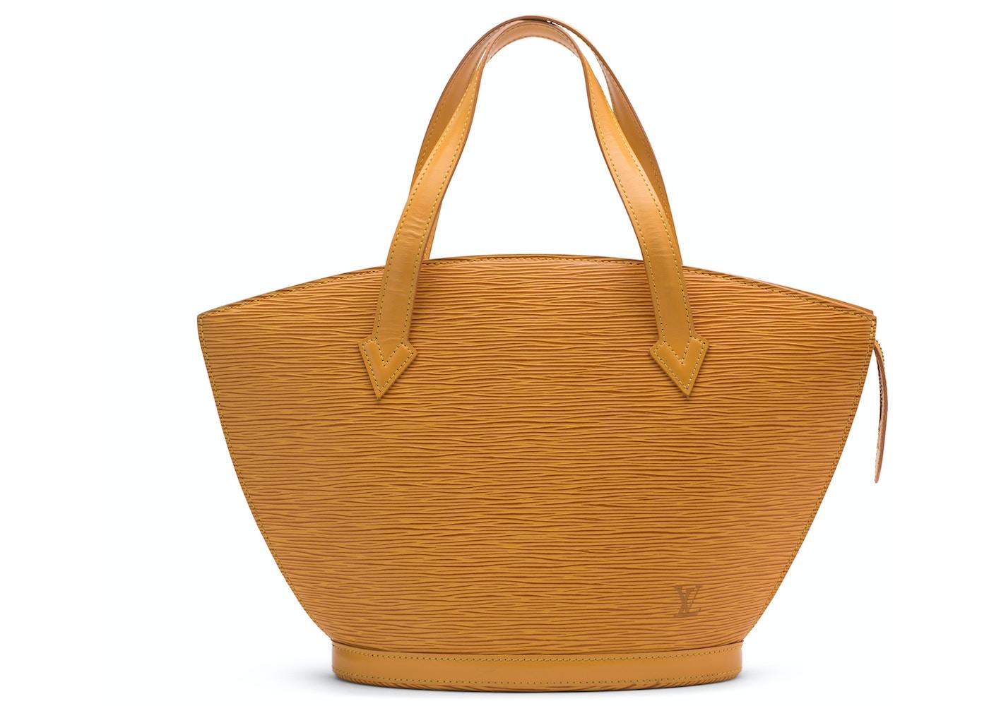 c144b5c89356 Louis Vuitton Saint Jacques Short Strap Epi PM Tassil Yellow. Epi PM Tassil  Yellow