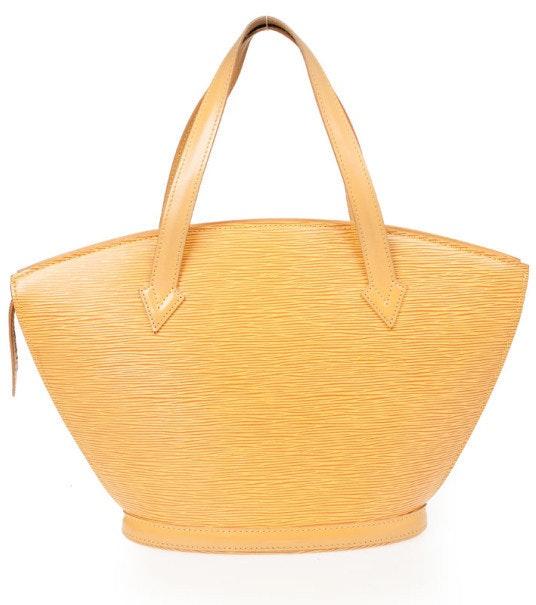 Louis Vuitton Saint Jacques Short Strap Epi PM Tassil Yellow