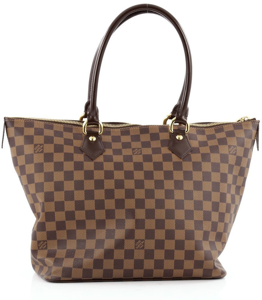 Louis Vuitton Saleya Damier Ebene MM Brown