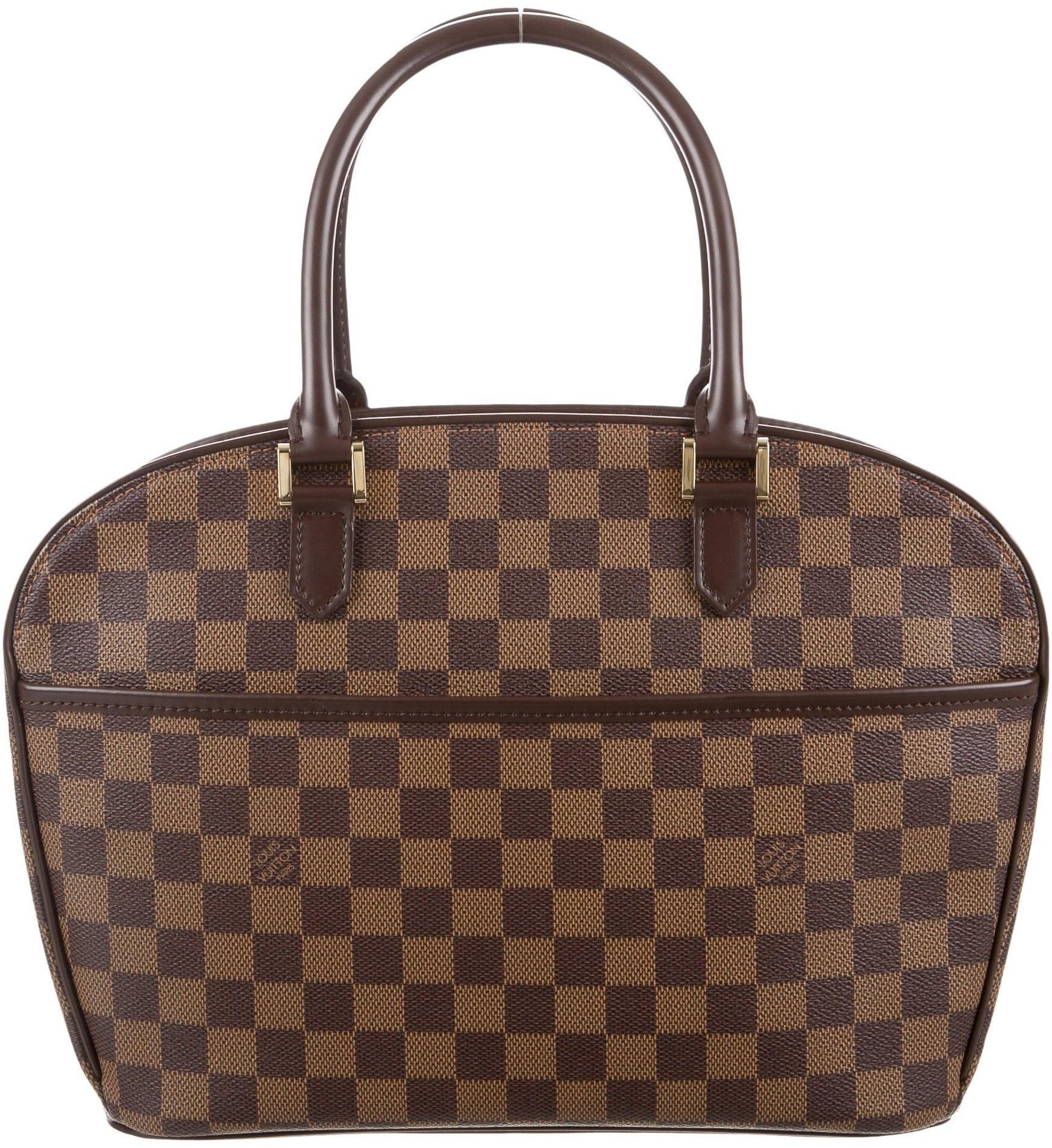 Louis Vuitton Sarria Horizontal Damier Ebene Brown